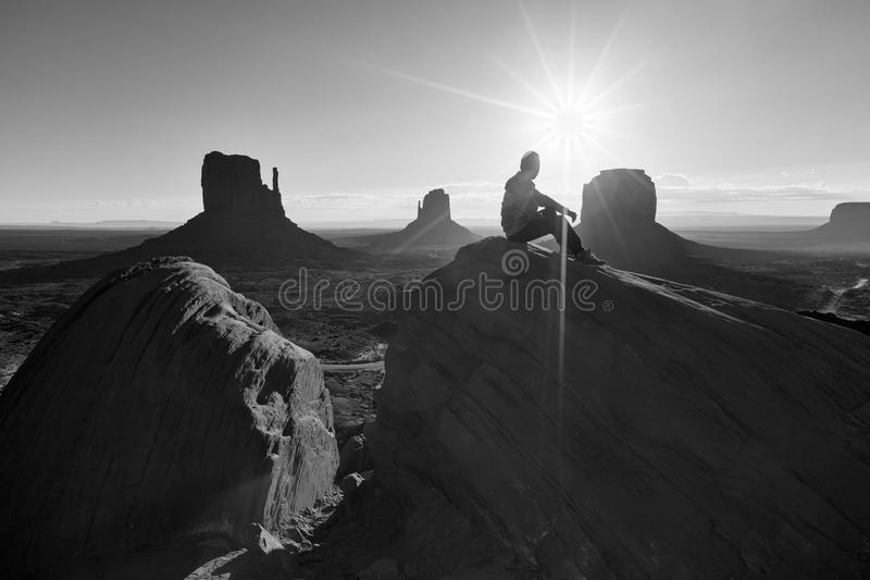 Der Monument-Tal-Stammes- Park, Arizona, USA stockfoto