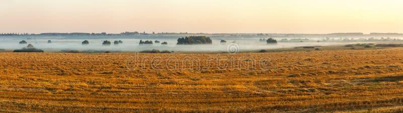 Der Morgen im Dorf lizenzfreies stockbild