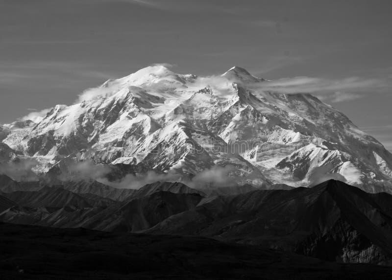 Der Mount McKinley - Nationalpark Denali stockfotografie