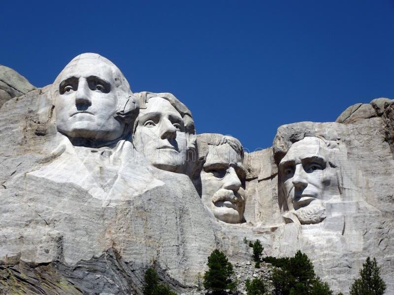 Der Mount Rushmore stockfotos