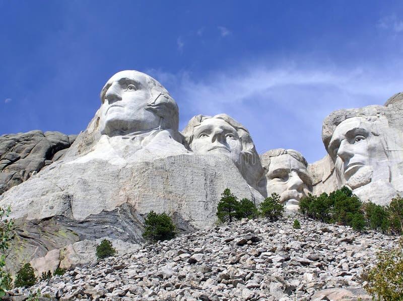 Der Mount Rushmore eine Touristenattraktion in South Dakota stockbild