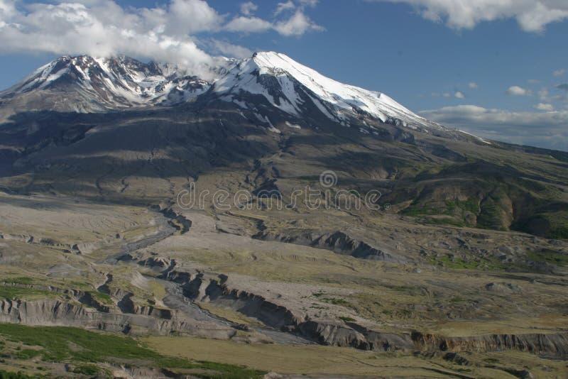 Der Mount- Saint Helenskrater stockbild