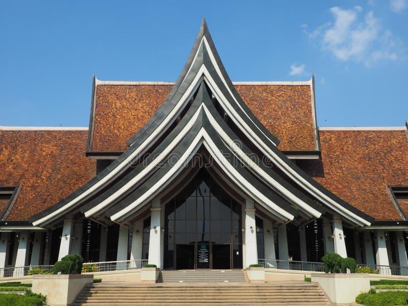 Der Museumsshop am Knall Sai Arts und das Handwerk zentriert stockfotografie