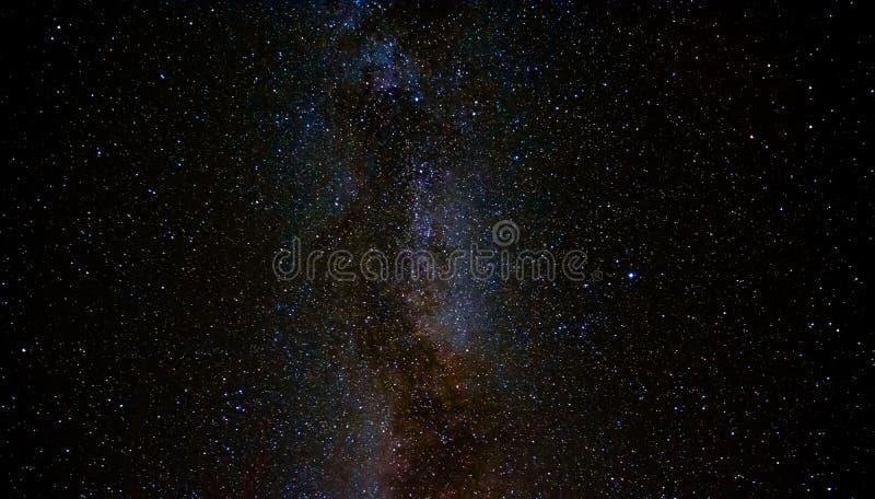 Der nächtliche Himmel stockfotografie