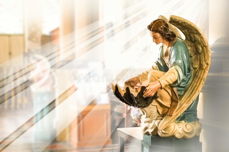 Der Name des Vaters und des Sohns und des Heiliger Geist stockbilder