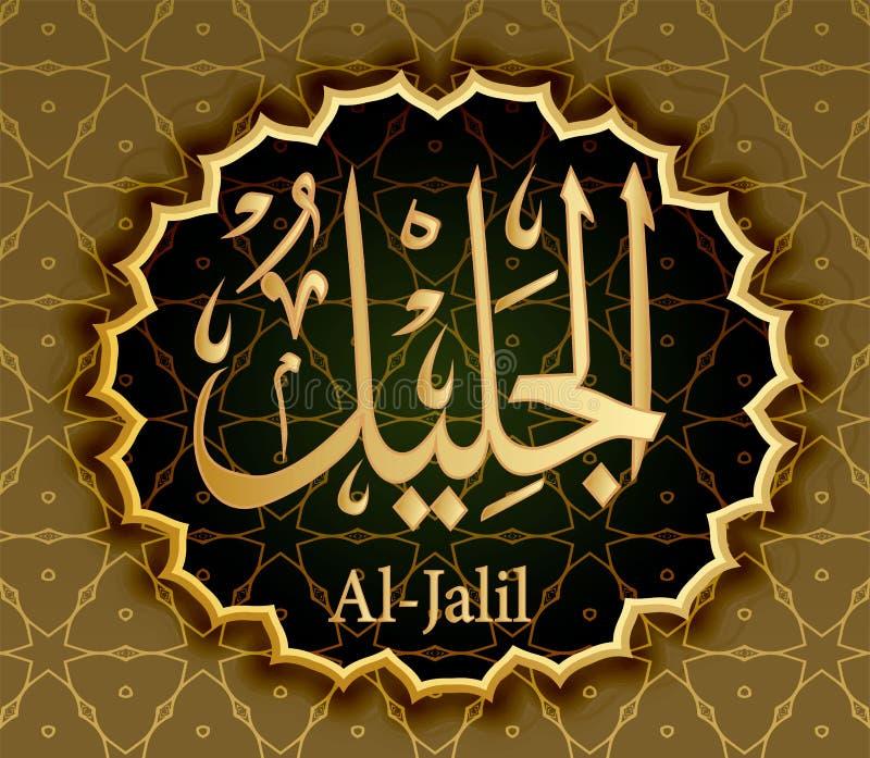 Der Name Von Allah-Al-Haqq Bedeutet Die Wirkliche Wahrheit