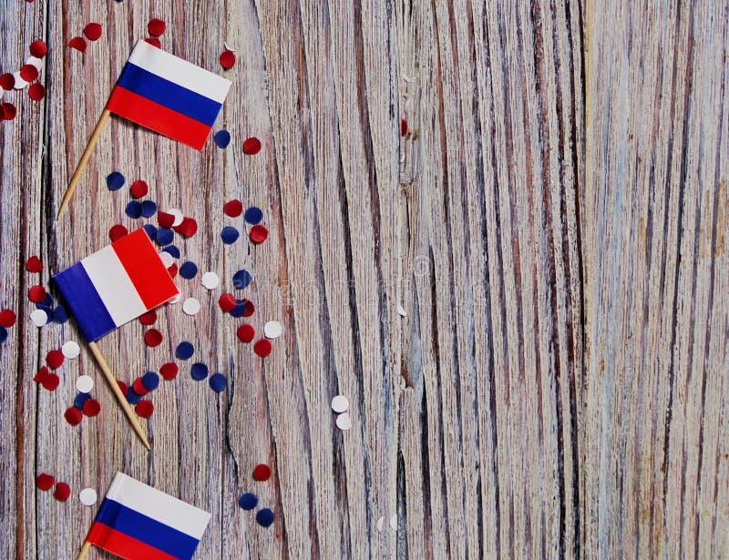 Der Nationalfeiertag vom 14. Juli ist ein gl?cklicher Unabh?ngigkeitstag von Frankreich, Franz?sischer Nationalfeiertag, das Konz stockfoto
