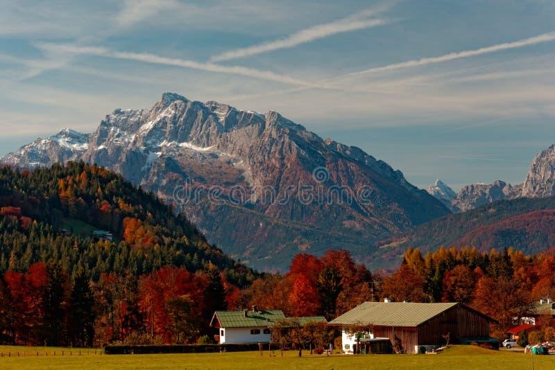 Der Nationalpark Berchtesgaden lizenzfreies stockbild