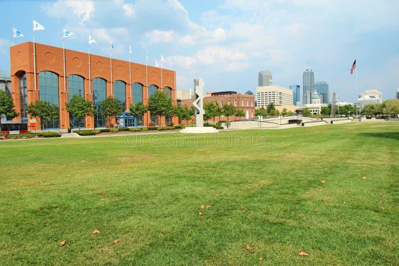Der NCAA Hall der Meister in Indianapolis lizenzfreie stockfotos