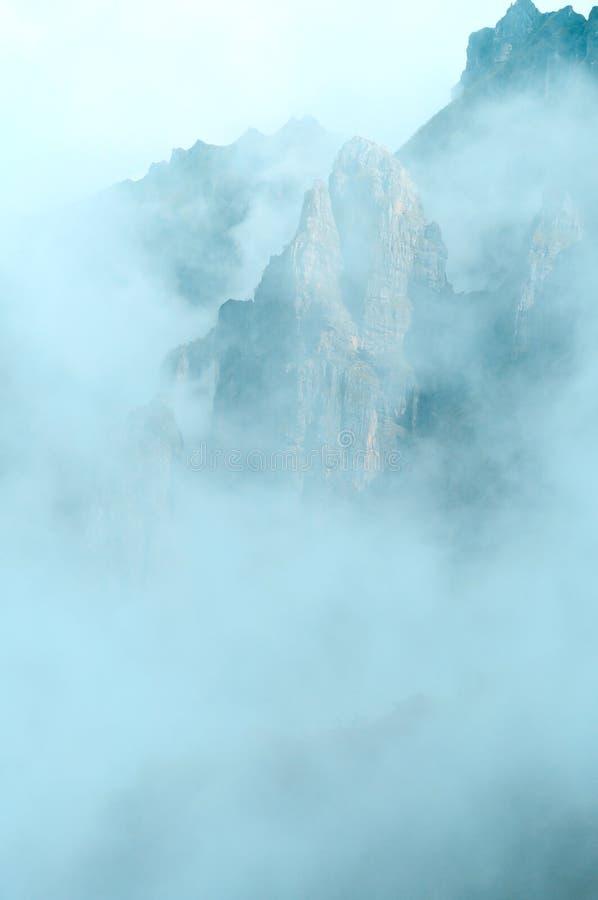 Der Nebel lizenzfreies stockfoto
