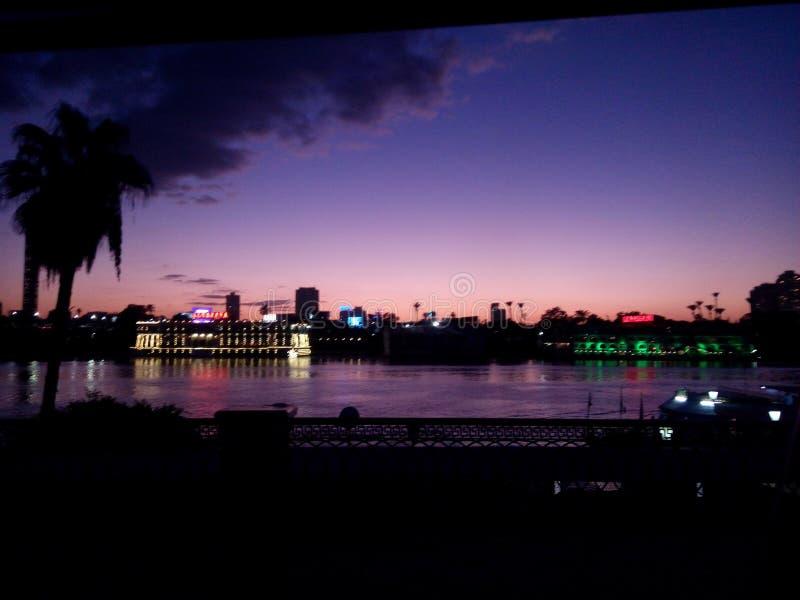Der Nil stockfoto