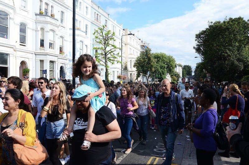 Der Notting- Hillkarneval 2011 28. August 2011 lizenzfreie stockbilder