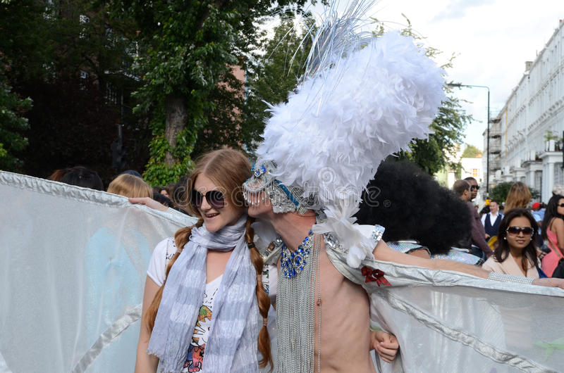 Der Notting- Hillkarneval 2011 28. August 2011 stockbild