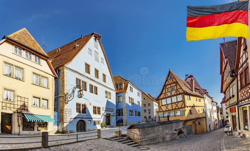 Rothenburg ob der Tauber Γερμανία στοκ εικόνες