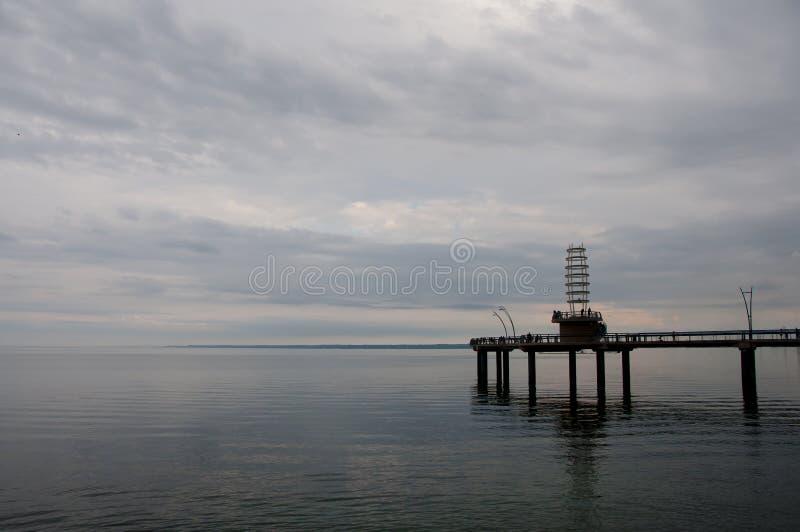 Der Ontariosee - Burlington - Kanada stockbilder