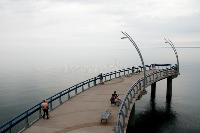 Der Ontariosee - Burlington - Kanada lizenzfreies stockbild