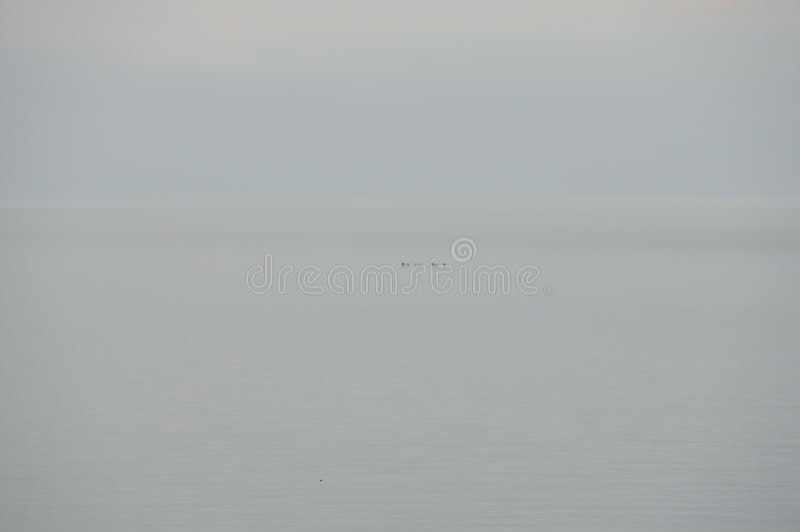 Der Ontariosee - Burlington - Kanada stockfoto