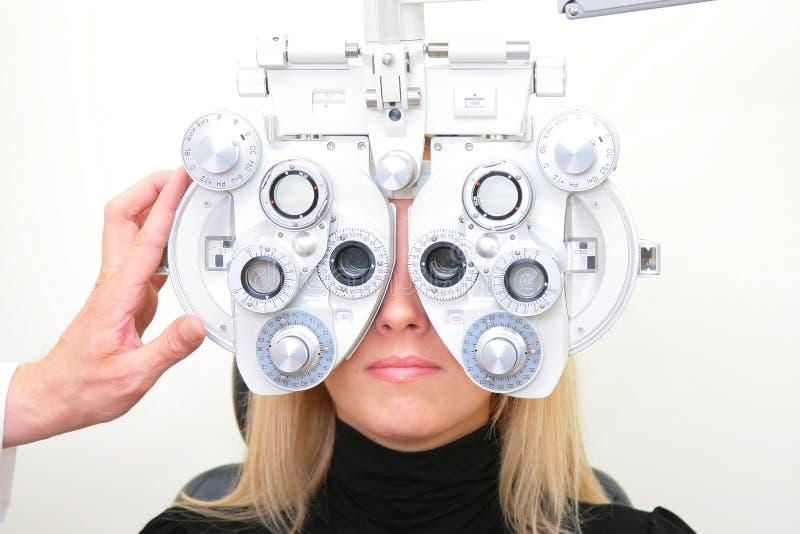 der optische Salon lizenzfreies stockfoto