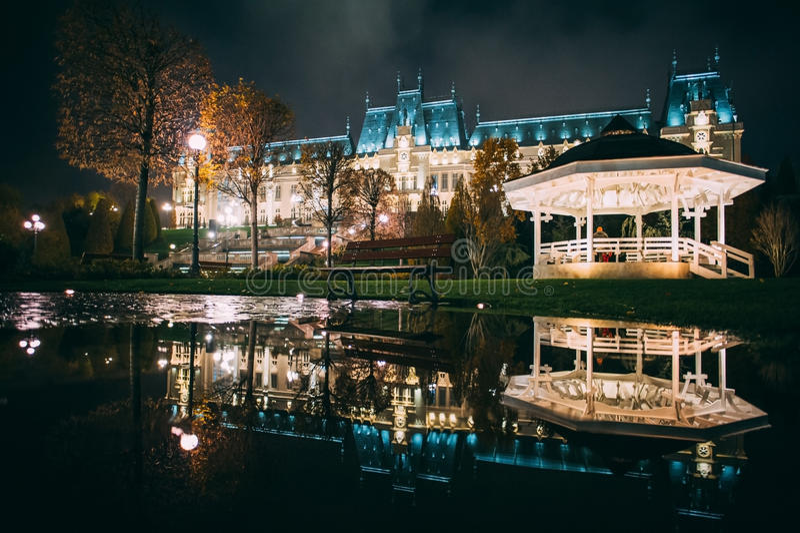Der Palast der Kultur von Iasi, Rumänien lizenzfreies stockbild