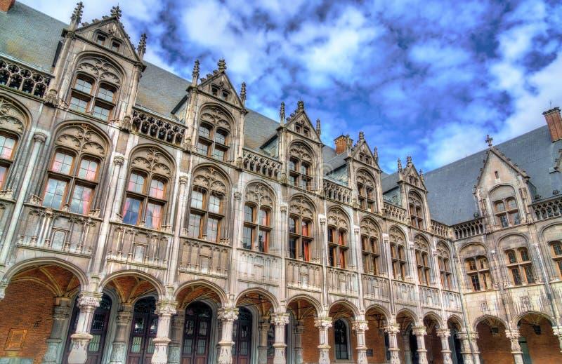 Der Palast der Prinz-Bischöfe in Lüttich, Belgien lizenzfreie stockfotos