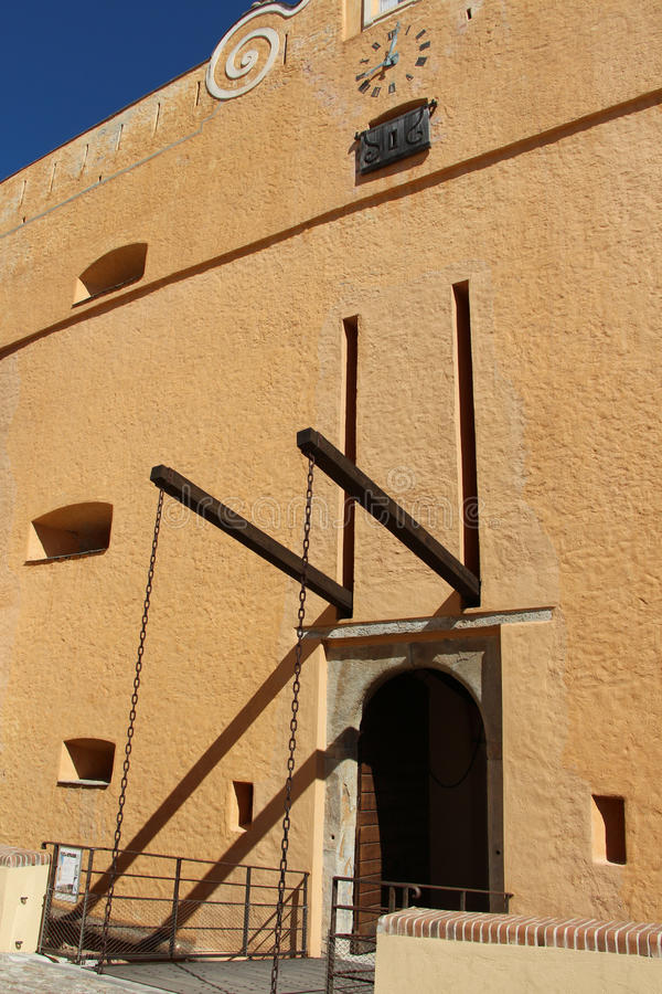 Der Palast von Gouverneuren, Museum von Bastia Corse frankreich stockfotos