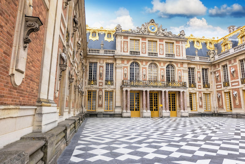 Der Palast von Versailles lizenzfreies stockfoto