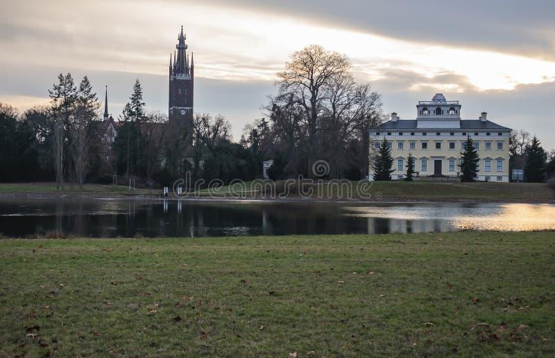 Der Palast von Worlitz stockfotos