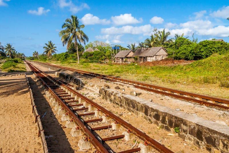 Der Pangalanes-Kanal stockfotografie