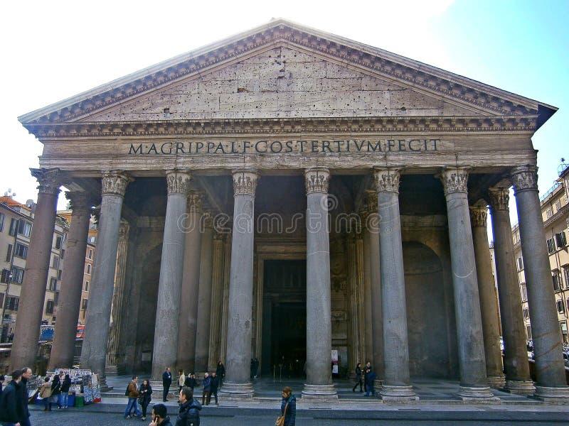Der Pantheon lizenzfreies stockbild
