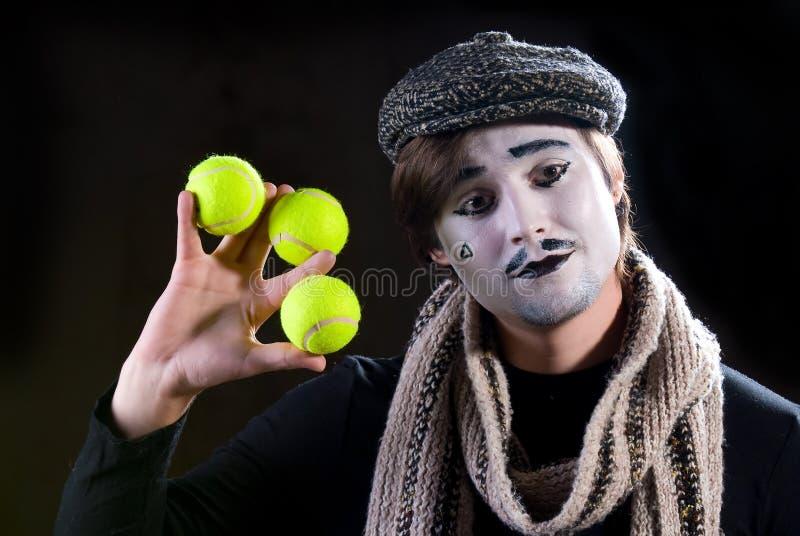 Der Pantomime stockfoto