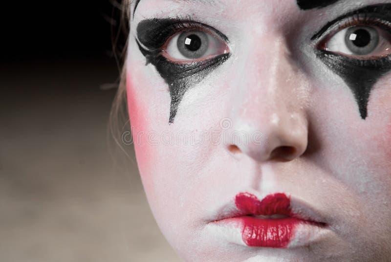 Der Pantomime lizenzfreie stockbilder