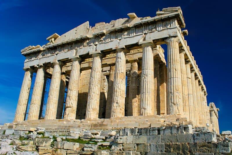 Der Parthenon lizenzfreies stockbild
