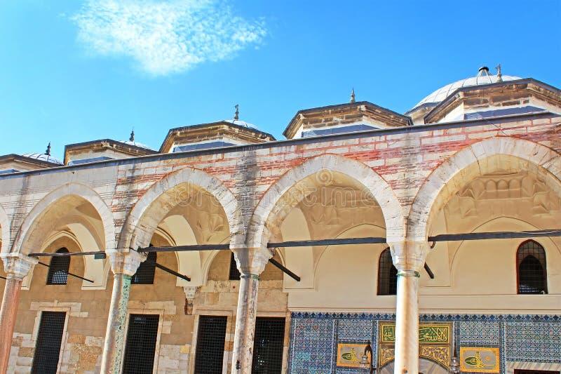 Der Pavillon des gesegneten Umhangs am Topkapi-Palast stockbilder