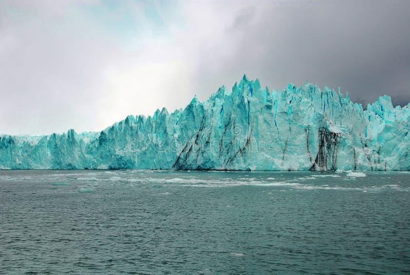 Der Perito Moreno Gletscher stockbilder