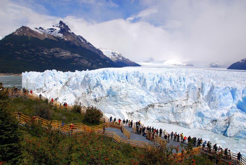 Der Perito Moreno Gletscher lizenzfreies stockfoto
