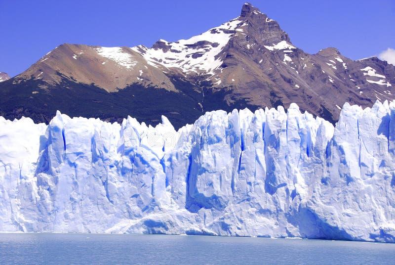Der Perito Moreno Gletscher stockfotos