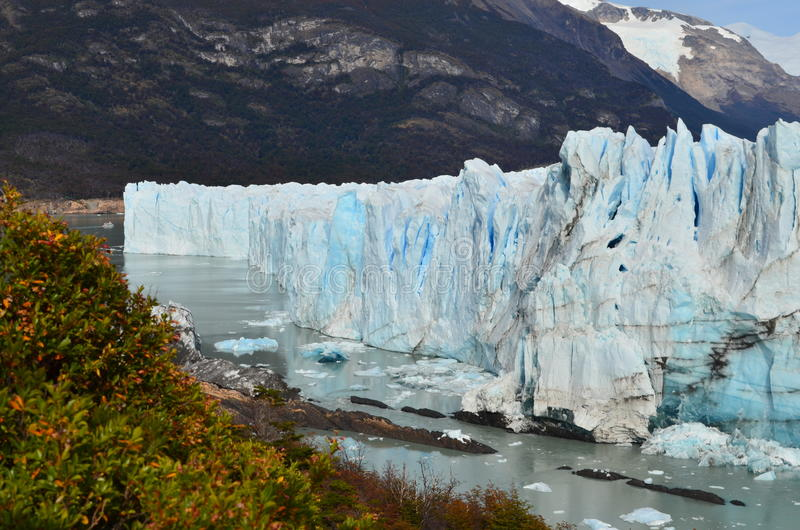 Der Perito Moreno Gletscher lizenzfreie stockfotografie