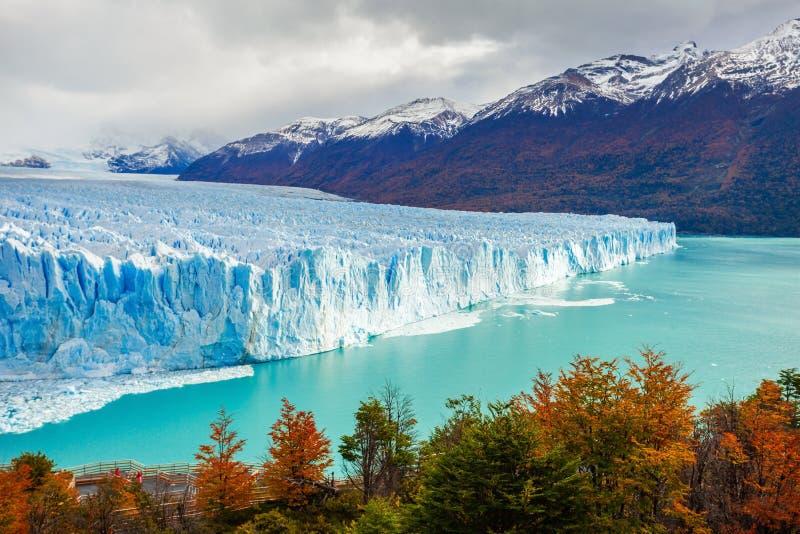 Der Perito Moreno Gletscher stockbild