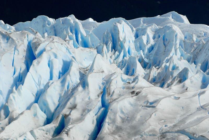 Der Perito Moreno Gletscher im Patagonia, Argentinien. stockfotos