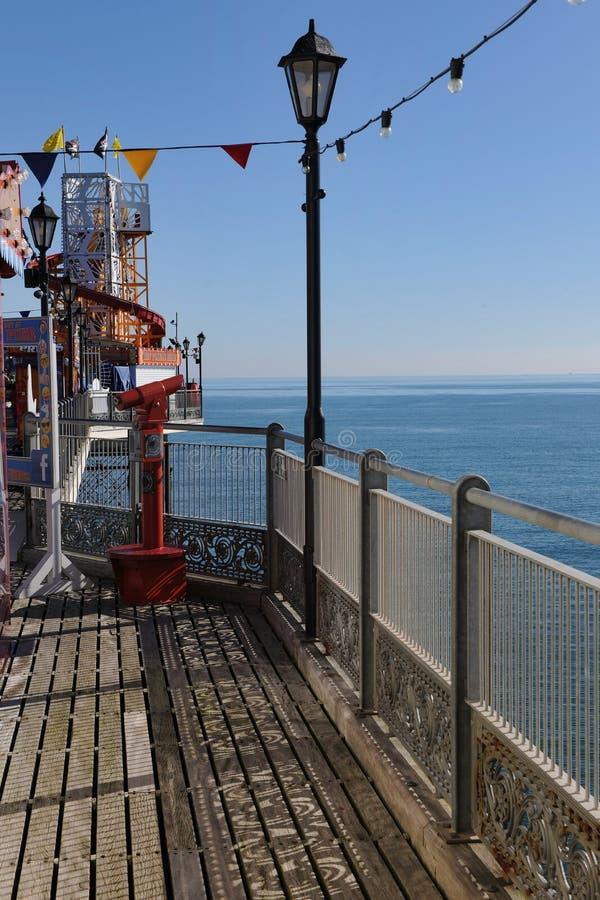 Der Pier bei Paignton, Devon lizenzfreie stockfotos