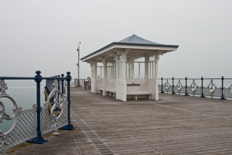 Der Pier in Swanage lizenzfreie stockfotos