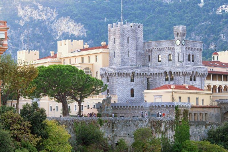 Der Prinz ` s Palast in Monaco lizenzfreie stockfotos