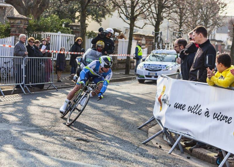 Der Radfahrer Matthews Michael Paris Nizza Prol 2013 Redaktionelles Stockbild