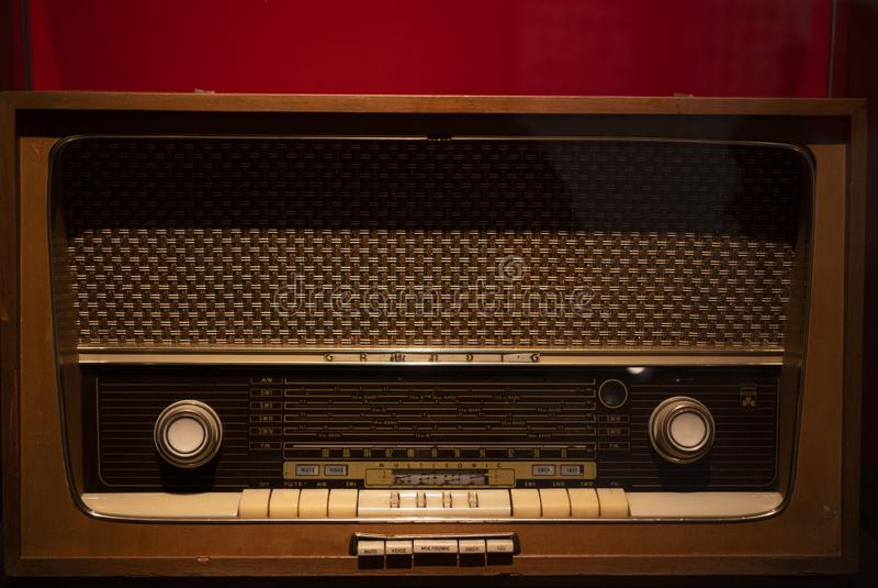 Der Radio lizenzfreie stockfotografie