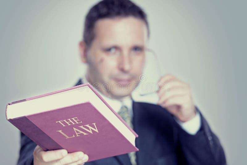 Der Rechtsanwalt stockfoto