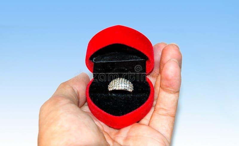 Der Ring stockbild