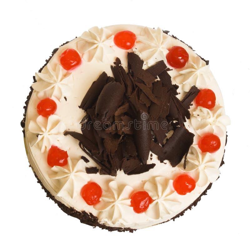 Der süße Kuchen lizenzfreies stockbild