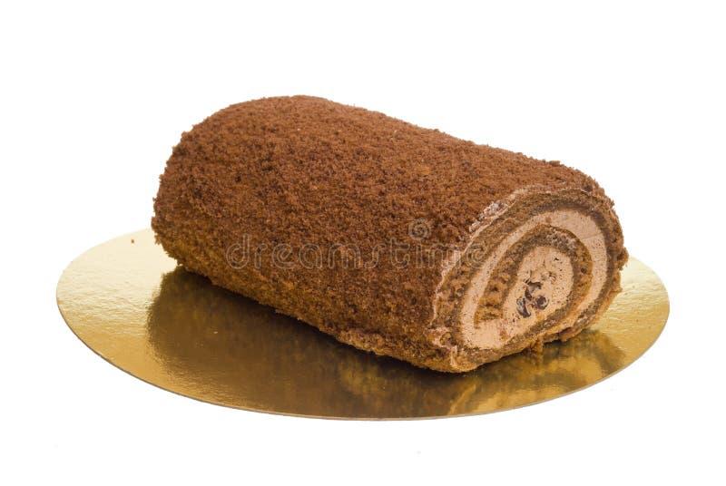 Der süße Kuchen stockbild