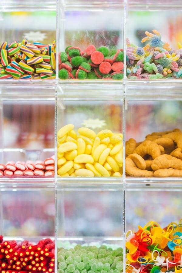 Der Süßigkeits-Shop lizenzfreies stockfoto