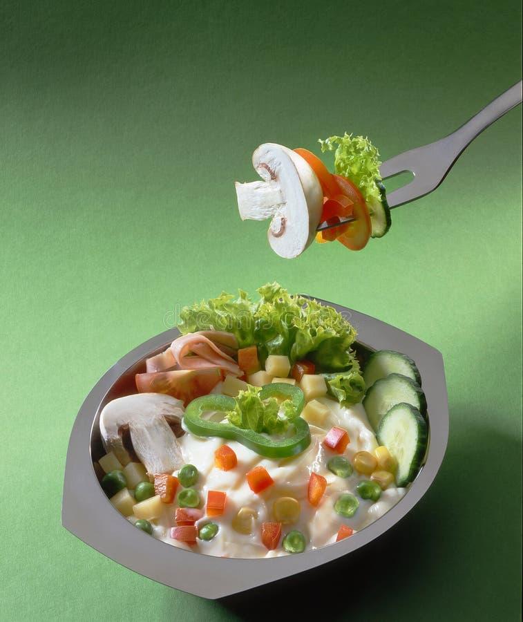 Der Salat stockfotos